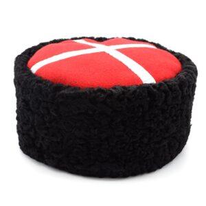 Кубанка натуральный каракуль (черная) 48119