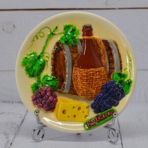 Тарелка вино Кубань мал. 39874