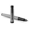 Перьевая ручка Parker IM Achromatic - Matt Gray 2127619 88529